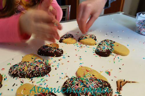 Biscotti cioccolato e codette