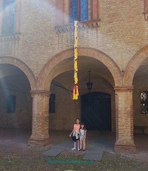 La treccia di Rapunzel al castello di Fontanellato