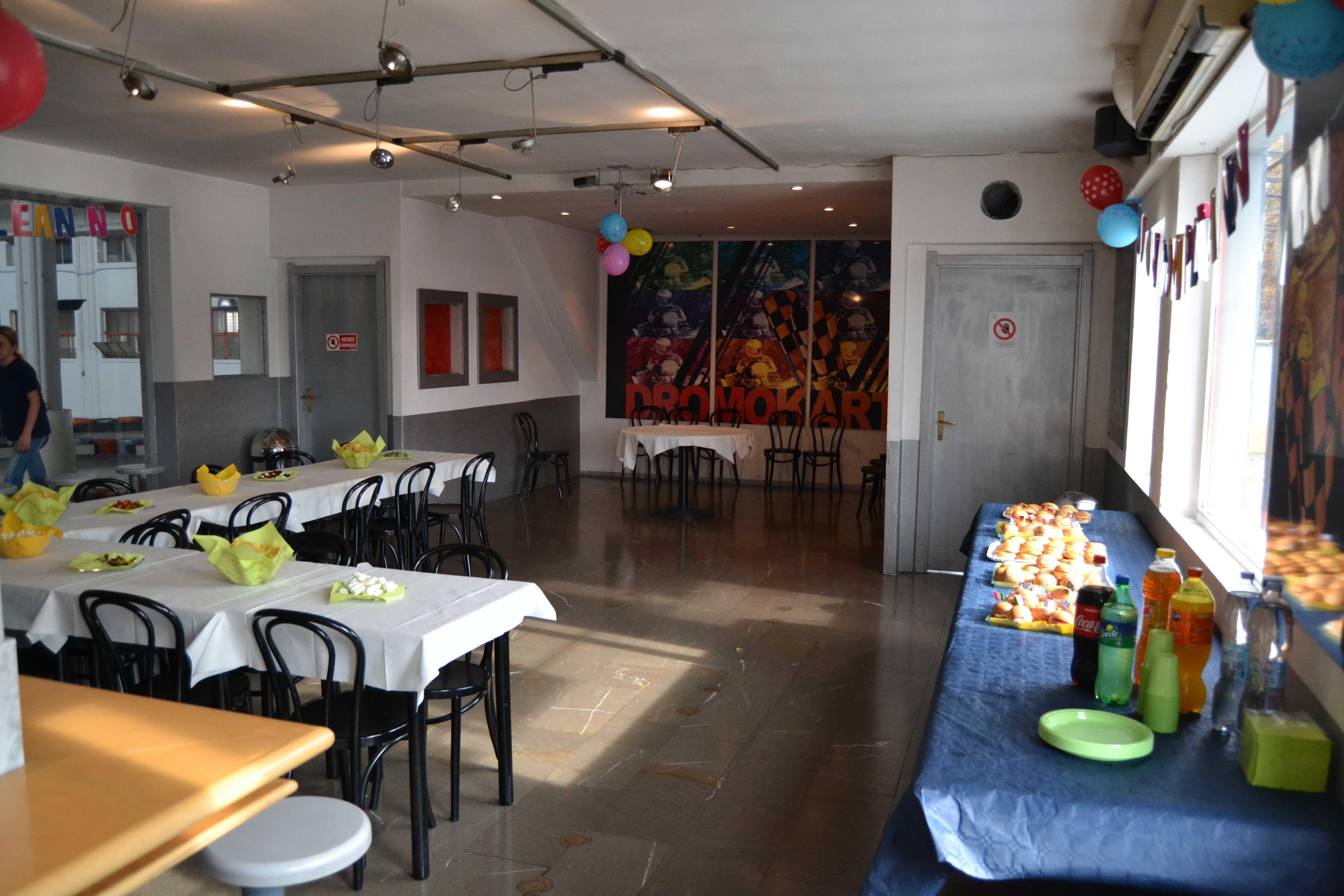 Festa di compleanno al Dromokart