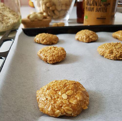 Biscotti al burro di arachidi semplici e veloci